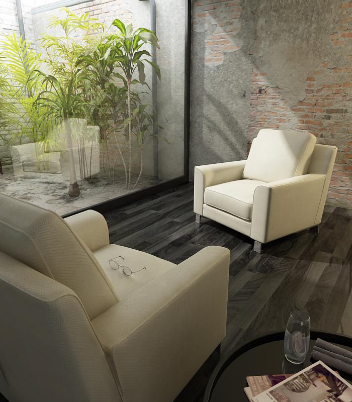 Butaca pequea disfruta al mximo de tu balcn o terraza pequea con esta gama with muebles para - Butacas para habitacion ...