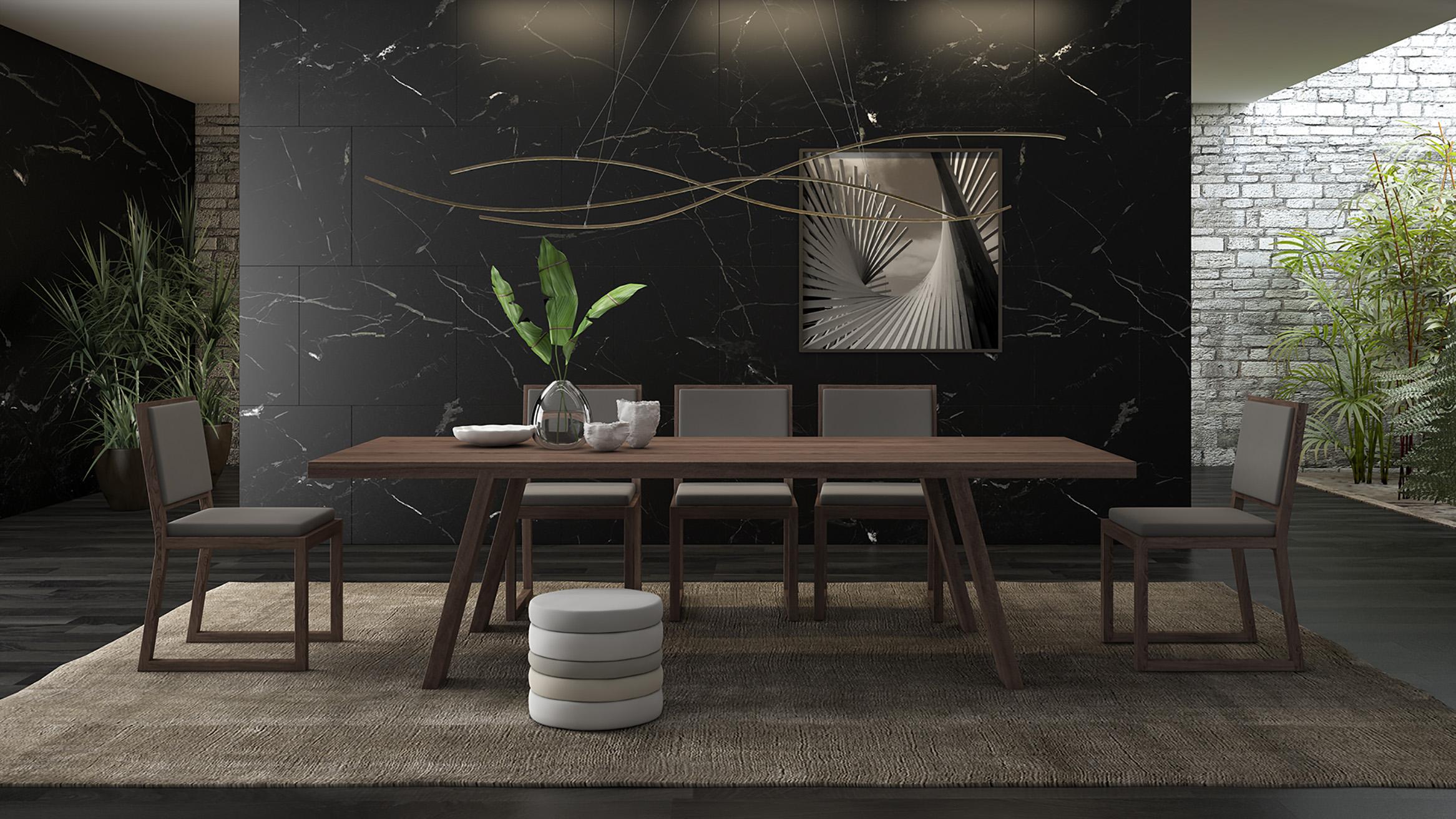 mesa de madera de diseño