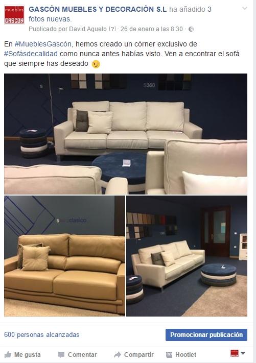 sofá de calidad avvento