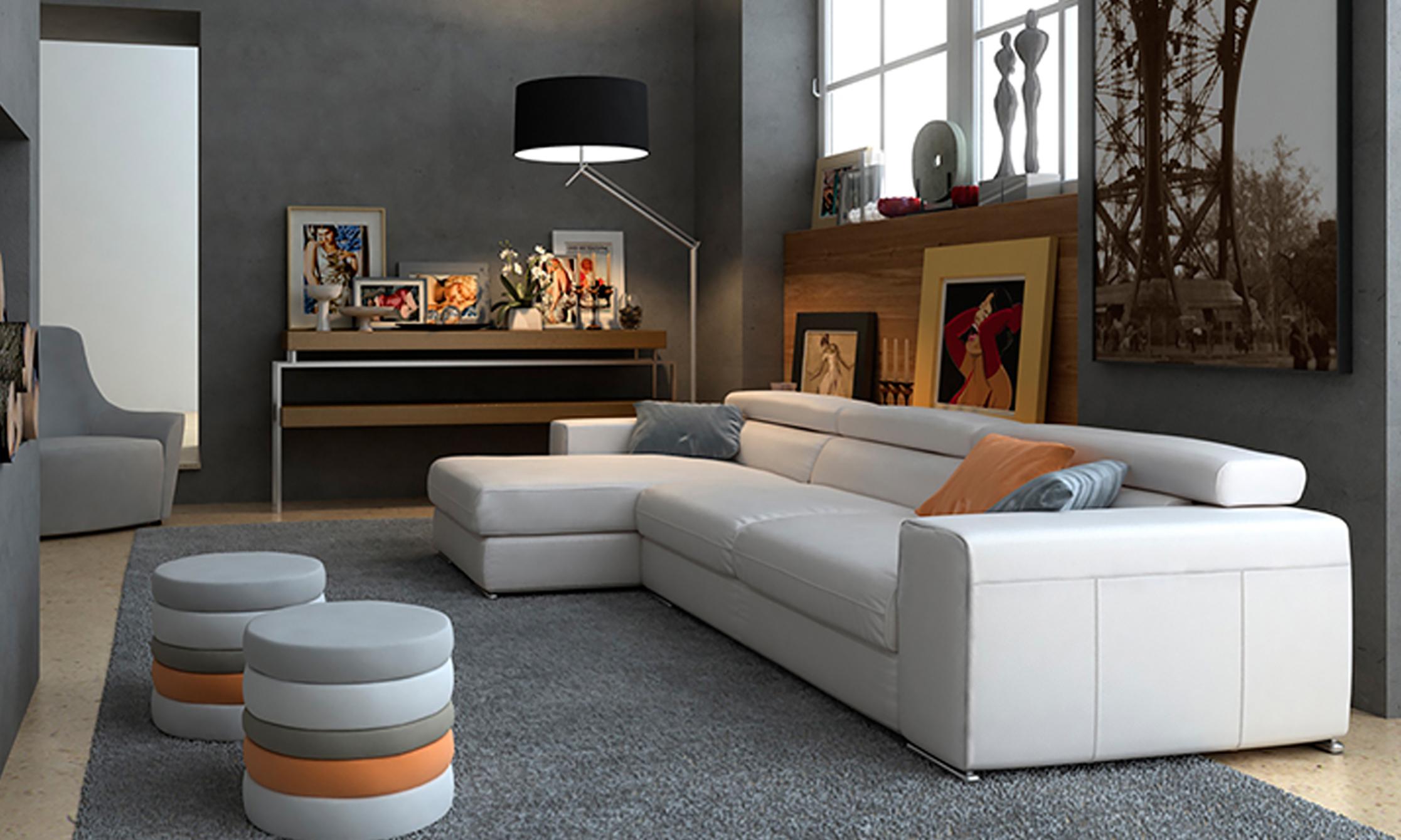 Tendencias en decoración de sofás. Texturas suaves
