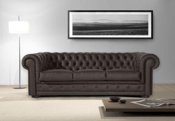 Tendencias en decoración de sofás. Sofá chester