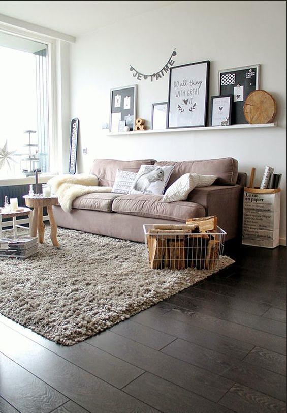 Tendencias en decoración de sofás. Sofá nórdico